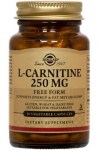 L-Carnitine 250 mg Vegetable Capsules 30 caps